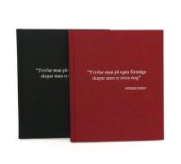 Anteckningsbok, citat A Zorn