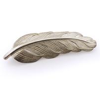 Fjädersmycke i silver